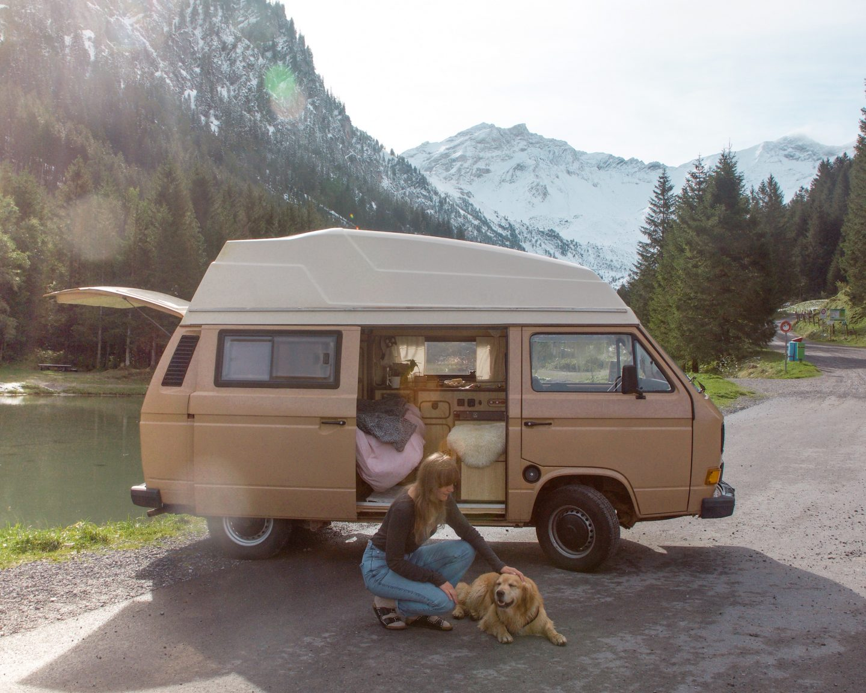 solo female van life